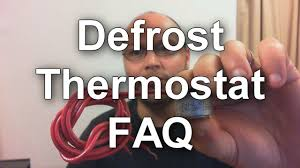 defrost thermostat how to test and how they work youtube
