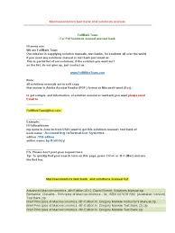 macroeconomics test bank and solutions manual macroeconomics