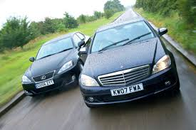 used lexus is 250 mercedes c class vs lexus is250 auto express