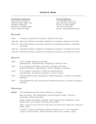 Stanford Resume Template Academic Resume Examples Resume Example And Free Resume Maker
