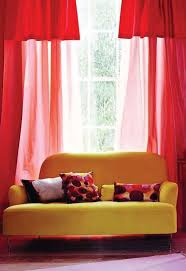 living room simple curtain design modern armchair small living