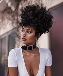 medium length afro caribbean curly hair styles 3 simple updos for shoulder length curly hair shoulder length