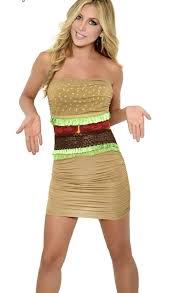 Yandy Halloween Costumes Horrible U0027sexy U0027 Halloween Costume Hamburger