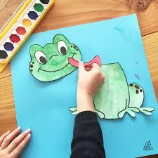 as 25 melhores ideias de frog template no pinterest