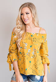 cold shoulder tops floral cold shoulder top the jar boutique