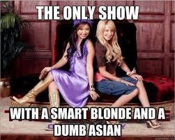 Asian Girlfriend Meme - disney channel brenda song and asian stereotypes stranger in a