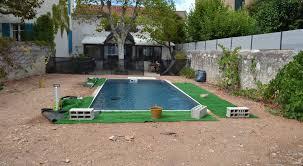 amenagement exterieur piscine création jardin de ville avec piscine marseille prado un