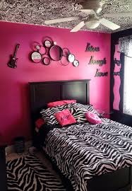 my daughter u0027s zebra bedroom with hand painted zebra stripes on
