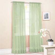 Mint Green Sheer Curtains Sage Green Curtains Sheer Fairfield Sage Window Curtain Set 55 In