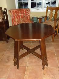 liberty u0026 co oak pegged octagonal table antiques atlas