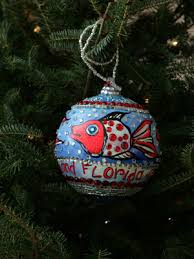 White House Christmas Ornament - ornaments representing florida