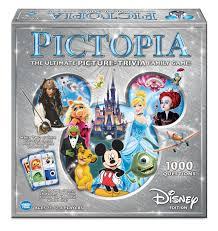 amazon com pictopia family trivia game disney edition toys u0026 games