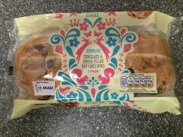 hot buns review a review a day today s review tesco chocolate toffee filled