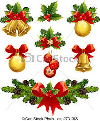 vector of christmas ornaments vector illustrations christmas