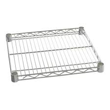 Chrome Bookshelves by Chrome Industrial Post Steel Wire Shelving Storables