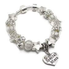 charm bracelet european images Special niece star dust children 39 s silver charm jpg