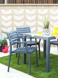 Concrete Patio Bench Dress Up A Cinder Block Wall With Chalk Paintconcrete Garden Bench