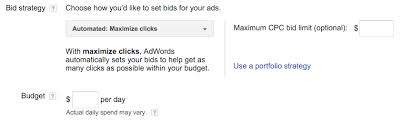 adwords bid choose your bid and budget previous adwords help