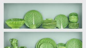 tory burch dinnerware tory burch relaunches lettuce ware with dodie thayer instyle com
