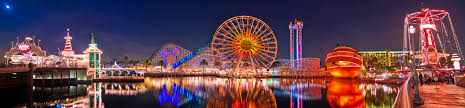 original paradise pier panorama disney tourist blog