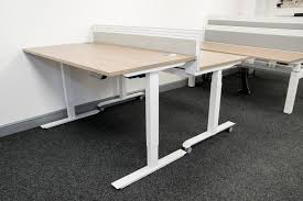 volt height adjustable desk somercotes office furniture ltd