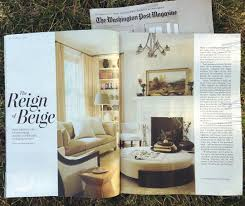 washington post magazine u201cin a political town design stays