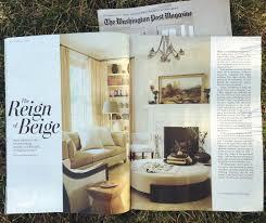 Home Design Magazine In by Washington Post Magazine U201cin A Political Town Design Stays