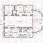 floor plan hacienda style house plans atrium architecture plans