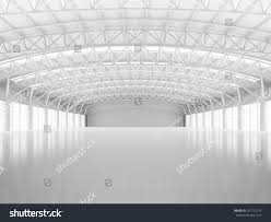 Warehouse Interior by Abstract Empty White Warehouse Interior Stock Illustration