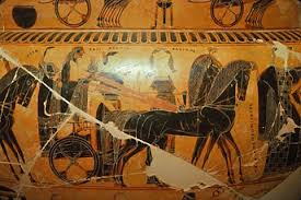 Francois Vase Greek Vase Painting Stock Images Diomedia