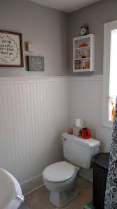bathroom trim ideas bathroom beige wall and white wainscoting bathroom with white