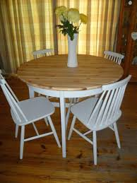 round pine dining table pine kitchen table and chairs shabby chic solid pine round dining