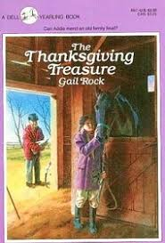 the thanksgiving treasure gail rock paperback 0440491177