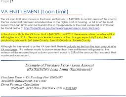 Va Max Loan Amount Worksheet by Va Eliminates Eligibility Verification Report Related Links