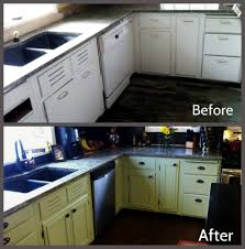 Kitchen Cabinet Refacing The Happy Housewife  Home Management - Diy kitchen cabinet refinishing