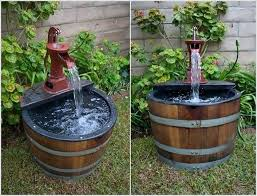 garden barrels add whimsy to your garden with a wine barrel