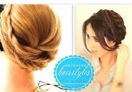 hair tutorials for medium hair crown braid for long hair tutorial video casual headband hairstyles