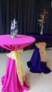 cocktail table centerpieces table decor general rental