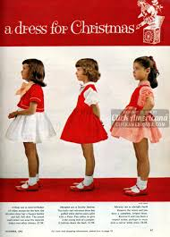 sweet sugarplums christmas dresses for little girls 1962