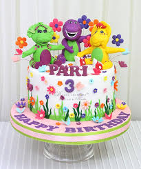 barney birthday cake barney and friends cake d cake creations