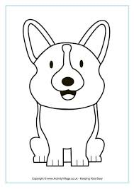 download corgi coloring pages ziho coloring