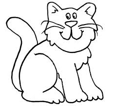 Cat Drawing Template cat shape template animal templates free premium templates