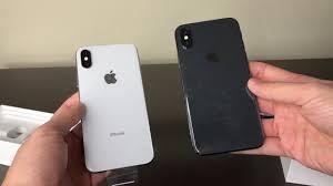 Popular iPhone X Branco ou Preto??? Qual comprar? Unboxing iPhone X Prata  &NR43