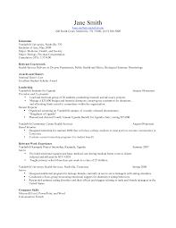 resume career profile template sidemcicek com