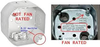 fan brace and box for suspended ceiling ceiling fan mounting bracket doesn t fit the electrical box help