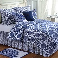 better homes and gardens indigo paisley 7 piece bedding comforter