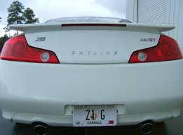 nissan infiniti logo g35 v35 skyline coupe rear emblem z1 motorsports