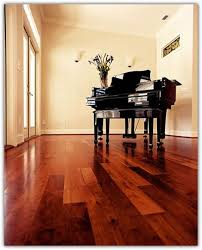 beautiful cherry wood floors in the kitchen hallways and dining