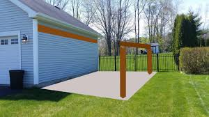 Carports And Garages Concrete Can I Build A Car Port On The Side Of My Garage Home
