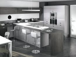 cuisine gris noir modele cuisine grise noir et gris gallery of placecalledgrace com